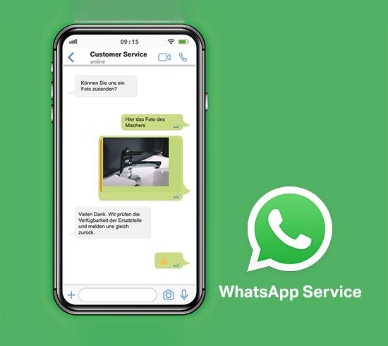 Assistenza via WhatsApp